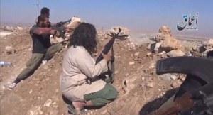 Κούρδοι μαχητές στο Κομπανί.