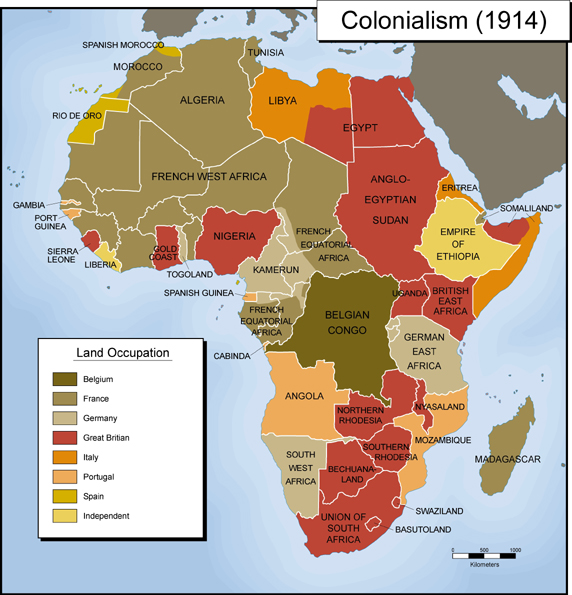 Αφρική, όμως στην περίπτωση των πιο στενών τετράποδων.