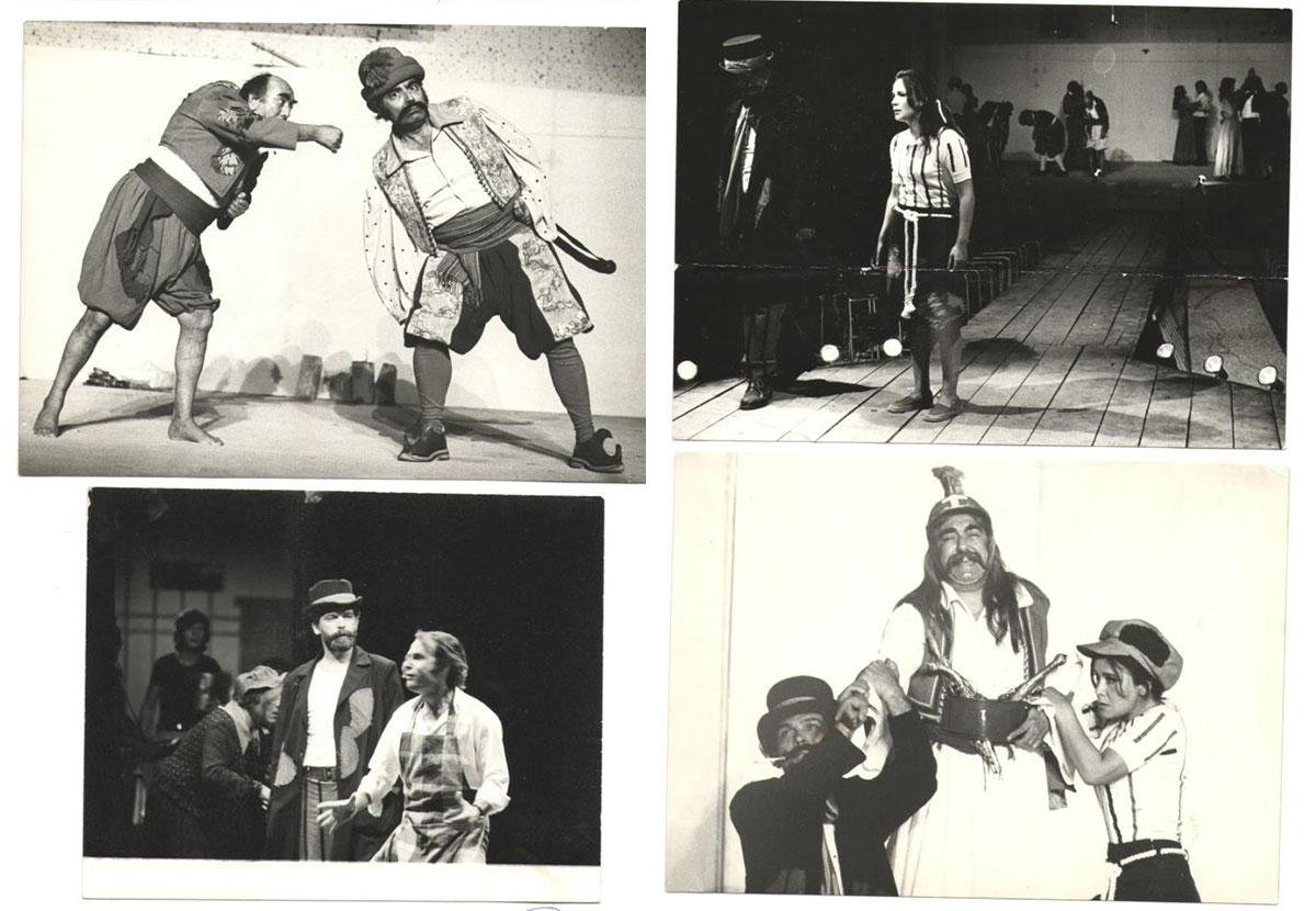 Σκηνές από την παράσταση