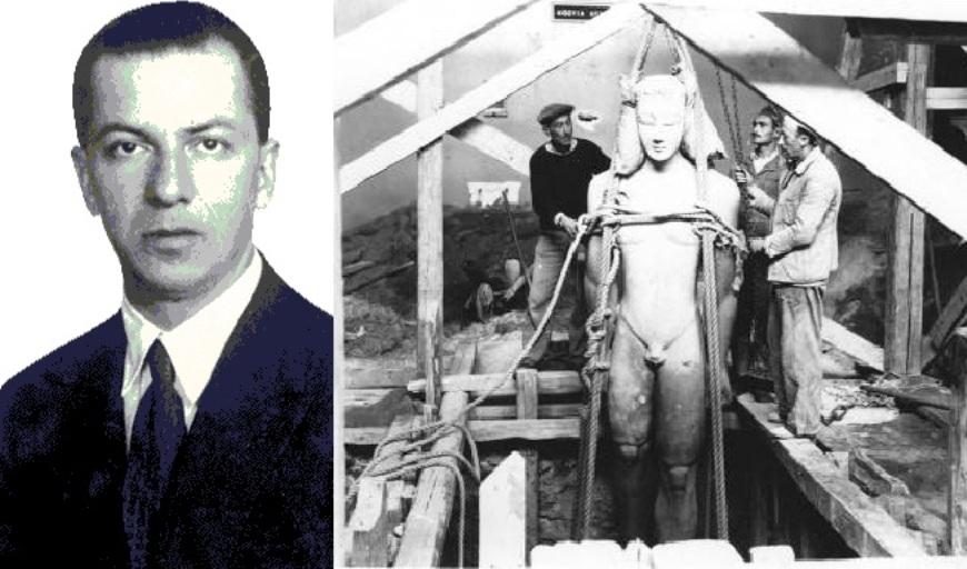 eabaa623a9 Χρήστος Καρούζος  50 χρόνια από το θάνατο του σπουδαίου αρχαιολόγου –  υπερασπιστή της πολιτιστικής κληρονομιάς μας