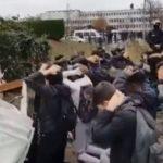 Εικόνες Κατοχής στη Γαλλία του Μακρόν (βίντεο)