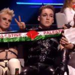 Eurovision: Οι Ισλανδοί με τα χρώματα της Παλαιστίνης (για δευτερόλεπτα...)