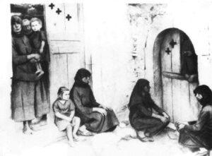 Αμυράς. Οι σταυροί στα σπίτια είναι τόσοι, όσοι και τα θύματα που είχε το κάθε σπίτι…