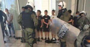 Προσπάθεια τρομοκράτησης και κυνηγητό μαθητών από την αστυνομία |  Ημεροδρόμος