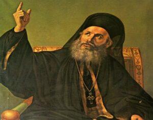 Ο Γρηγόριος ο Ε΄, υποταγμένος στην οθωμανική εξουσία πατριάρχης , σε εγκύκλιό του τον Μάρτιο του 1819, όχι μόνο θεωρούσε παραπανήσια και άχρηστη τη διδασκαλία των φυσικομαθηματικών και τα διδάγματά τους, αλλά διακήρυσσε πως και η γη …δεν κινείται!